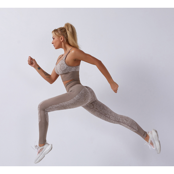 Sportsklær Running Leggings Yoga Sets