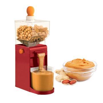 Mini Peanut Grinder Peanut Cashews Hazelnuts Nuts Sunflower Seeds Electric Grinder Self-making Peanut Butte Household Grain Mill