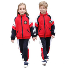 Spring autumn sports wear school uniform suit
