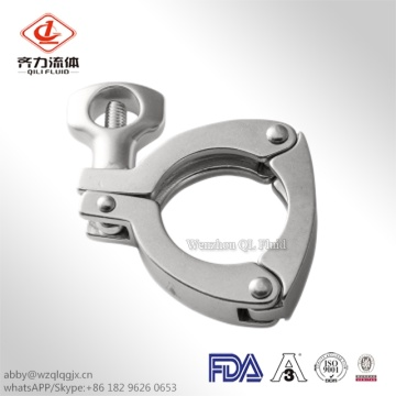 Stainless Steel Pipe Fittings Sanitary Tube Clamp