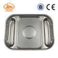 Wet Feeding Galvanized Stainless Steel Pans For Pig