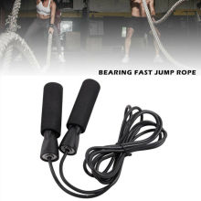 Jump Ropes Weighted Skipping Rope Steel Wire Adjustable Speed Jump Rope Workout Exercise Fitness Equipments
