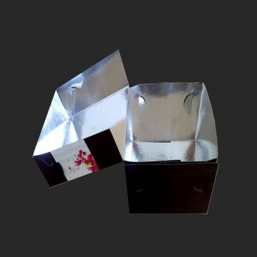 Aluminium foil PET laminated liner paper food boxes