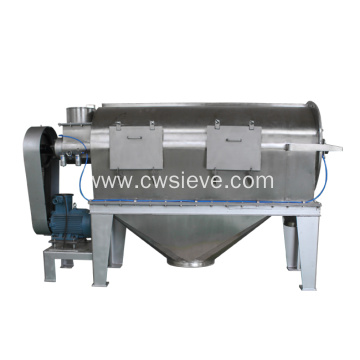 Air flow centrifugal sifter for starch powder