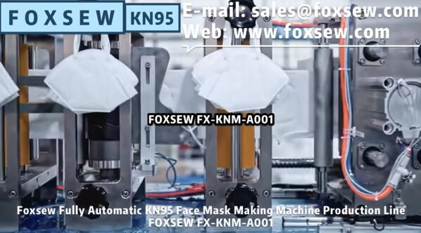 Fully Automatic KN95 Mask Making Machine Production Line FOXSEW FX-KNM-A001