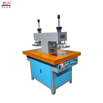 semi-auto  silicone garment logo making embossing machinery