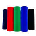 Cheap PS flocked sheet /rolls -darkblue pvc film