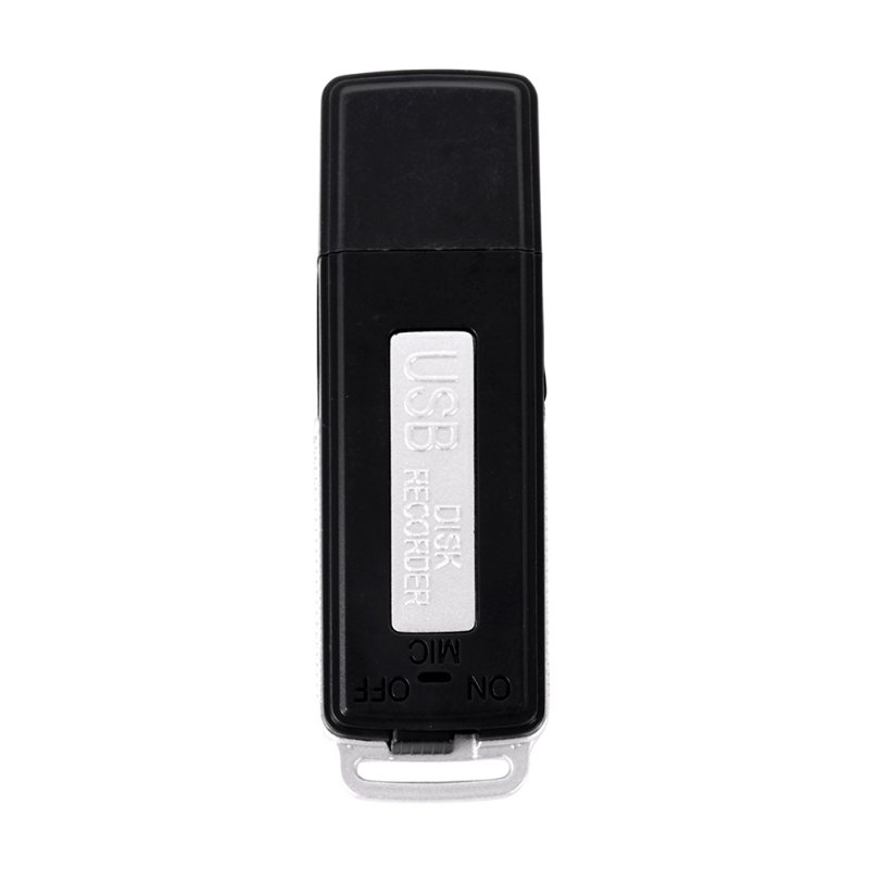2 in 1 Mini 8GB USB Pen Flash Drive Disk Digital Audio Voice Recorder 70 Hours Portable Mini Recording Dictaphone