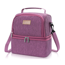 Insulated Two Layers Waterproof Cross-body Cooler Bag