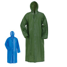Factory sale waterproof  adult long raincoat