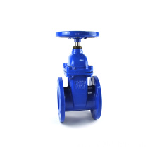 JKTL ductile iron resilient DIN F5 square nut direct buried gate valve