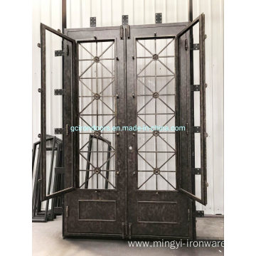 Anti-Hurricane Iron Doors