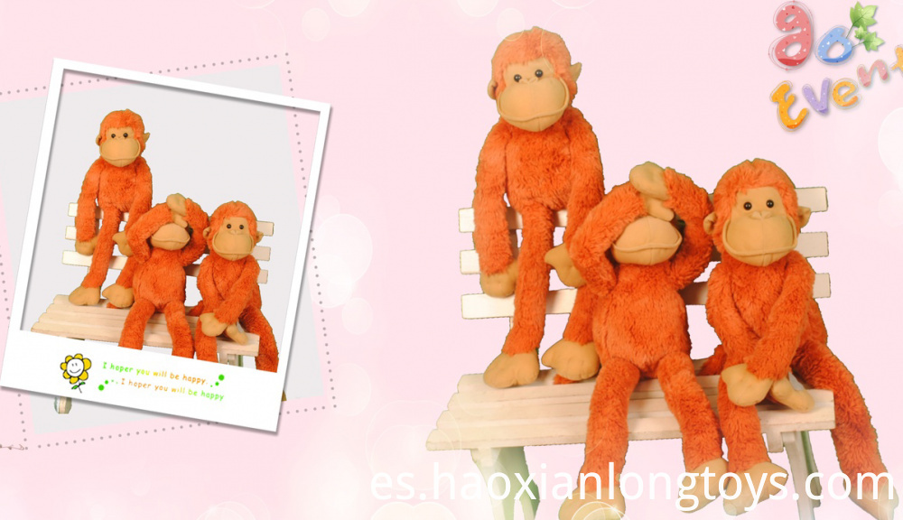 Funny plush toy monkeys