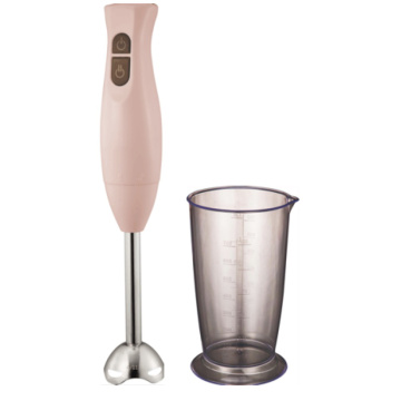 Electric hand blender with cup