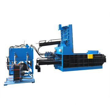 Aluminum Waste Metal Baler Steel Wire Baling Machine