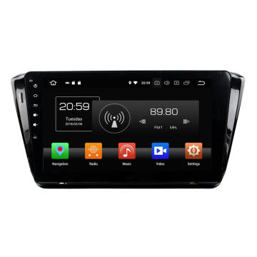 auto DVD Player fir SKODA Superb 2015