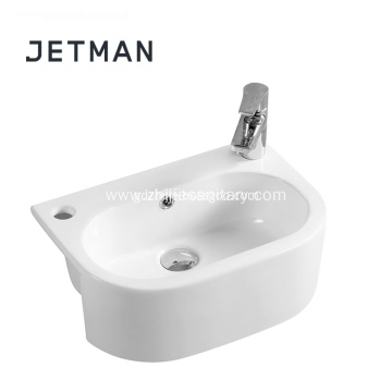 new product decorative art ceramic sink vs granite