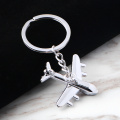 Beautiful Style Plane Shape Metal Keychain Accessories