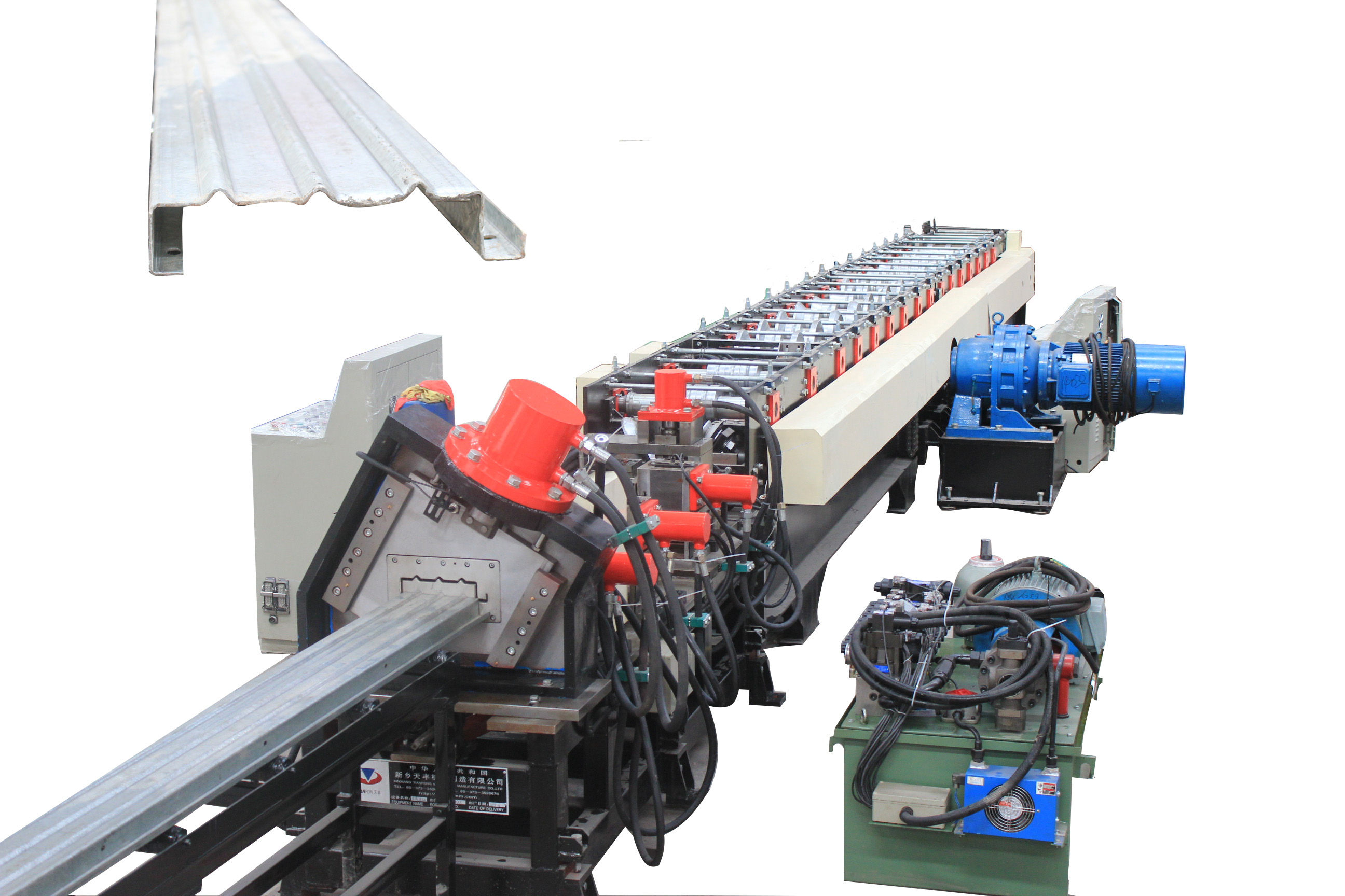 Stereo Bottom Board Rim Roll Forming Equipment