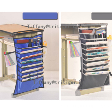 Multifunction Oxford Fabric Desk Student Hang Organizer Bag for book