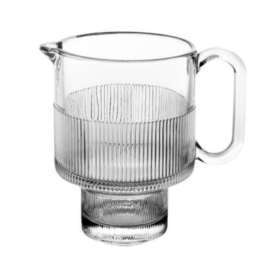 Cheap price crystal galss creamer