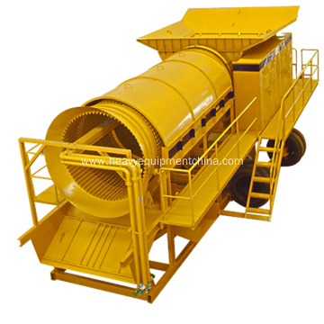 Factory Price Mobile Gold Trommel Screen For Sale