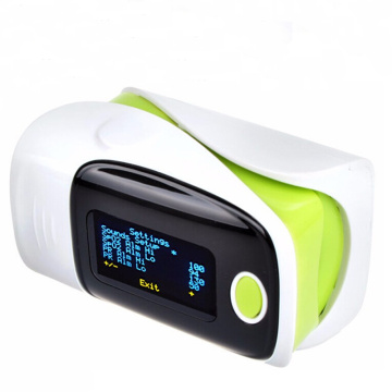 6 display modes sleep monitor finger pulse oximeter