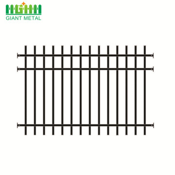 PVC Coated Short Wrought Iron Fence