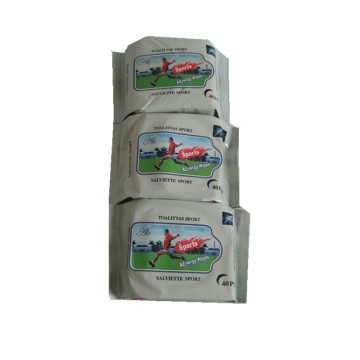 Wholesale Sports Goods Refreshing Wet Tissues
