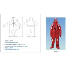 INSULATED IMMERSION AND THERMAL PROTECTIVE SUIT