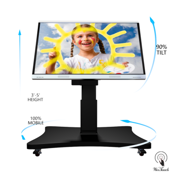75 4K Touch Screen Board With Automatic Stand