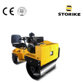 850kg Small Double Drum Vibratory Road Compactor