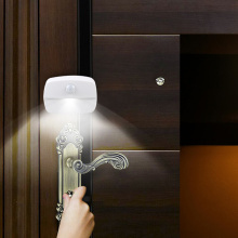 2020 New LED Motion Sensor Light Battery Operated Wireless Wall Lamp Night Light No Glare Corridor Closet LED Cabinet Door Light