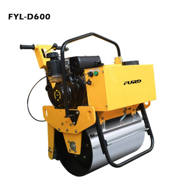285kg Mini Asphalt Compactor with Heavy Vibration Power