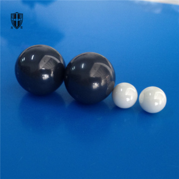 G grade polished white black zirconia ceramic ball