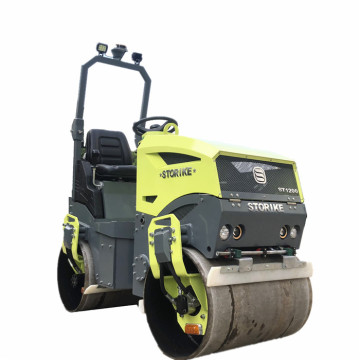 Good quality double drum road roller 1200KG