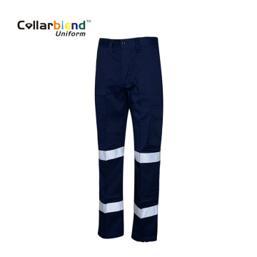 Reflective Work Pant Poly Cotton Workwear Trousers