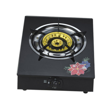 Butterfly Glass Top Gas Stove 1 Burner