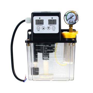 1pc 2L 2 Liters lubricant pump automatic lubricating oil pump 1L 1 Liters 220V cnc electromagnetic lubrication pump lubricator