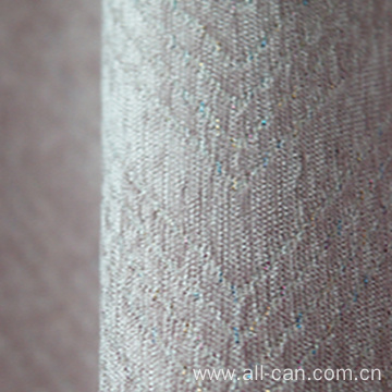 Jacquard velvet curtain fabric