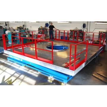 hydraulic Platform lift design