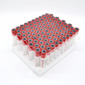 Red non activator vacuum blood collection plain tube