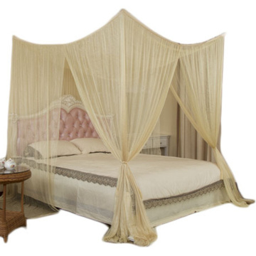Easy Hanging Mosquito Net Four Corner Bed Canopy
