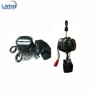 Lifting stage equipment manual stage chain hoist