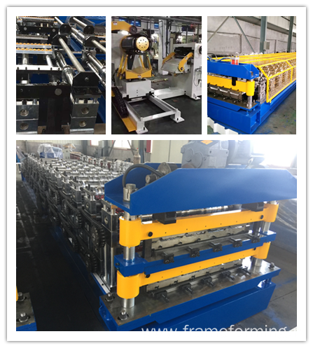 Double Layer Metal sheet roofing forming machine