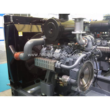 Doosan large power 6 cylinder diesel engine