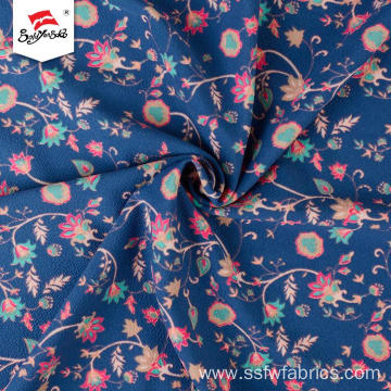 Flower Pattern Polyester Custom German Print Fabric