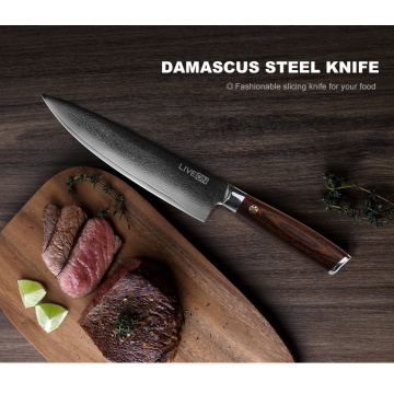 67 Layers  Damascus Chef Knife