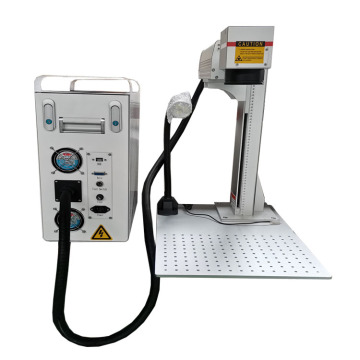 High precision Portable 30W photo fiber laser marking machine for sale