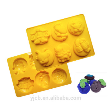 6 constellation kids funny molds silicones